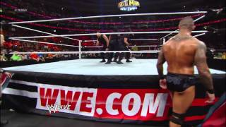 Zack Ryder, Justin Gabriel & The Great Khali vs. The Shield: Raw, March 25, 2013
