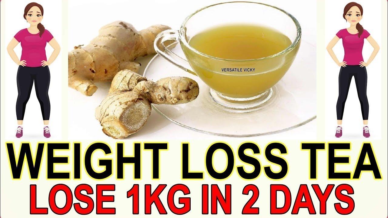 ginger tea for fat loss