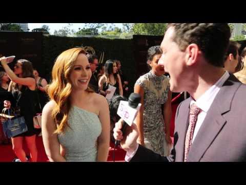 2016 soapcentral.com Daytime Emmys Red Carpet: Camryn Grimes