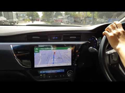 รีวิวจอAndroid 10 นิ้ว Toyota Altis By Auto Lift Tech