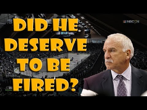 Did Joel Quenneville Deserve to Be FIRED? (NHL 19 Gameplay)