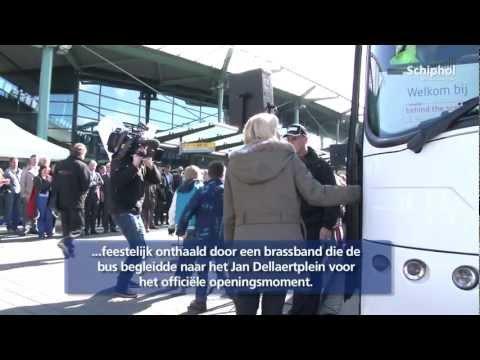 Kinderen Enthousiast Over Schiphol Behind The Scenes Tour