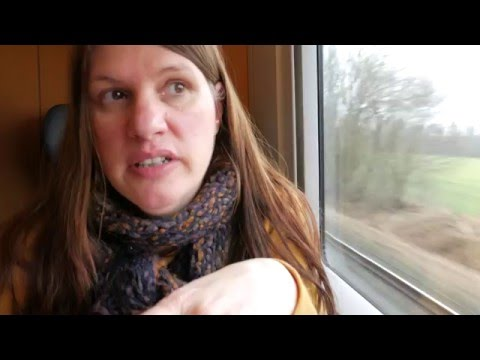 Recap of our trip (while on the train to Hamburg) Whimsical Travelers Vlog 12