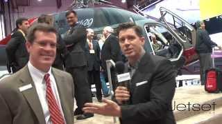 Bell 429 Helicopter at NBAA Las Vegas 2013