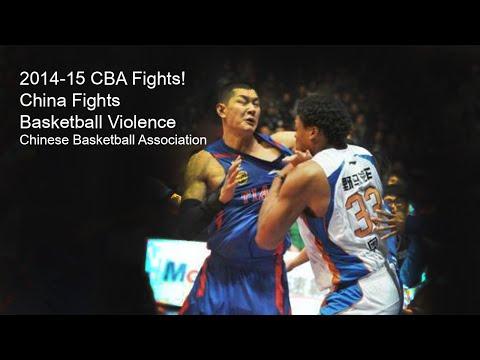 China Basketball Fights   CBA 2014-15   Chinese Basketball Association Brawls