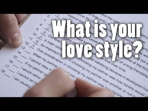 What is your style of love?
