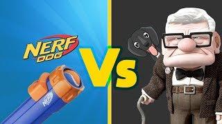 Grandad VS Nerf Dog Tennis Ball Blaster - Dog Toy Review