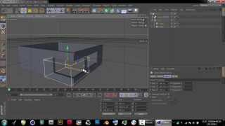 Creating wall in Cinema 4D Basic Tutorial