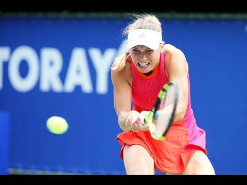 2017 Toray Pan Pacific Open Final | Shot of the Day | Caroline Wozniacki
