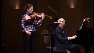 Ravel Sonate violin & piano 1/3 (Sandrine Cantoreggi & Bruno Canino) Hakuju Hall Tokyo 2018