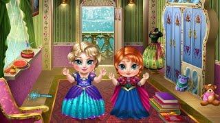 ♥ Frozen Games Baby Elsa And Anna Bath Disney Episode ♥