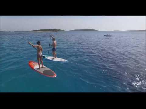 Stand Up Paddle tour in croatia- SUP safari Vis island