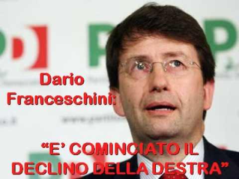Franceschini delirante annuncia il declino della destra (elezioni 2009)