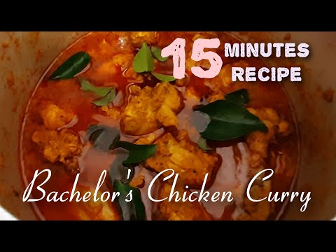 bachelor's-chicken-curry-l-pressure-cooker-chicken-curry-l-kerala-style-easy-chicken-curry