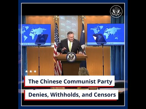 The Chinese Communist Party Denies, Withholds, and Censors