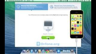[Mac iPhone 5C Bookmark Recovery] Recover Safari Bookmarks from iPhone 5C Without Backup on Mac