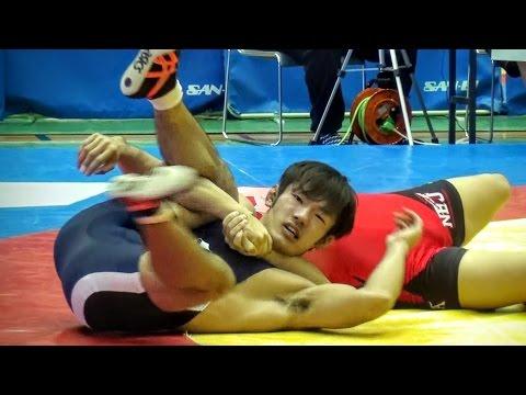 Wrestling Japan レスリング – NBU vs St. Andrews University PIN