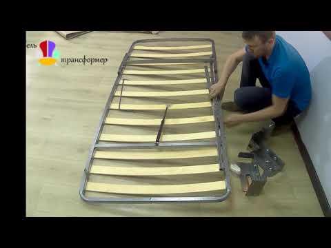 Распаковка-Механизм откидной шкаф кровати