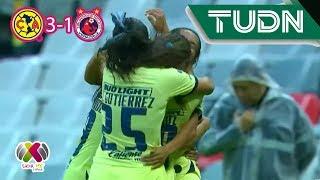 Voltereta azulcrema | América 3 - 1 Veracruz | Ap 2019 - J4 - Liga Mx Femenil | TUDN