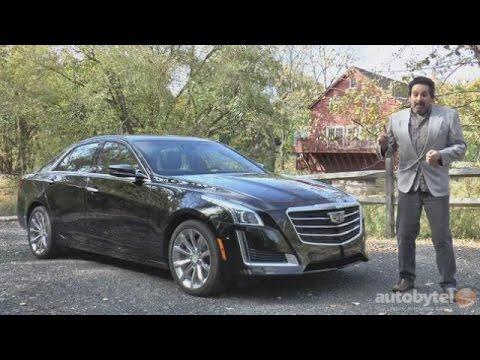 2016 Cadillac CTS Premium Luxury Sedan Test Drive Video Review
