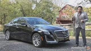 2016 Cadillac CTS Premium Luxury Sedan Test Drive Video Review