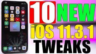 10 Brand NEW iOS 11.3.1 Jailbreak Tweaks !