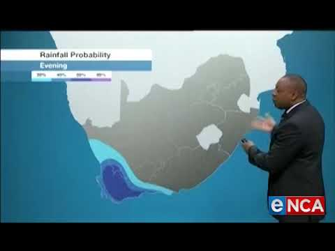 ENCA Weather Forecast At 7pm   18 Sep