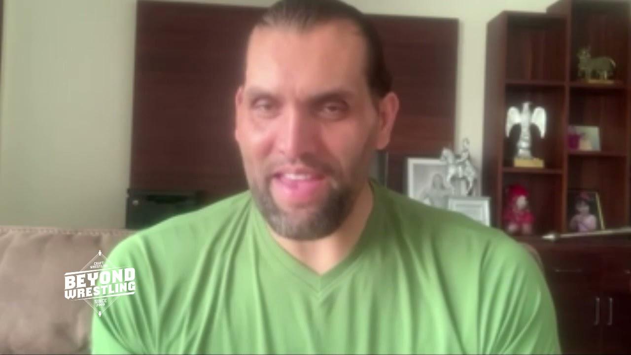 WWE Hall Of Famer Great Khali gives advice to Robo The Punjabi Lion (Jora Johl) | Beyond Wrestling