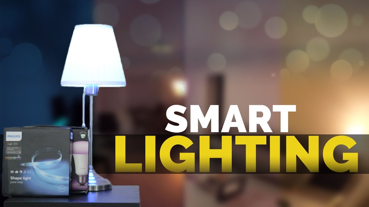 Smart Home Lighting Is The Future Philips Hue Studio Project