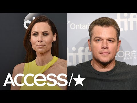 Minnie Driver Explains Why She Recently Slammed Matt Damon  Access