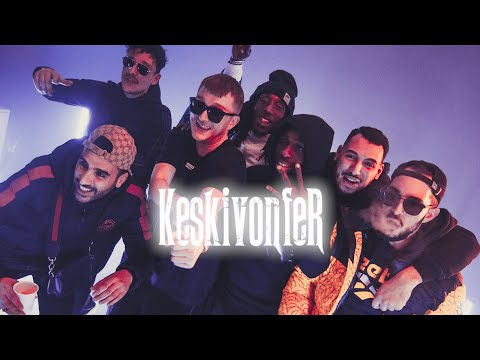 Youtube: Vald – KESKIVONFER (Clip officiel)