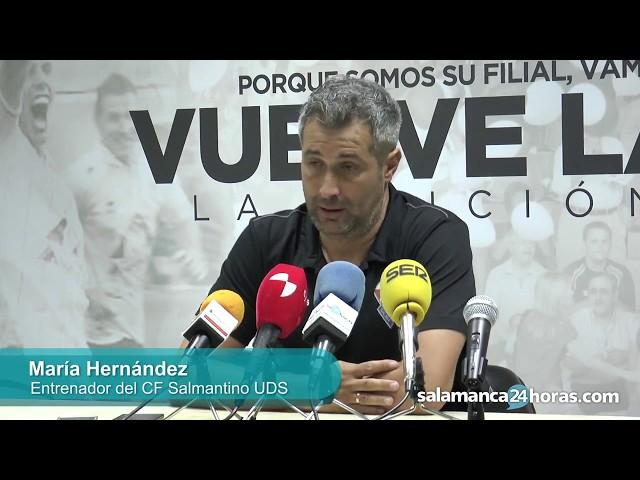 Rueda de prensa tas el Salmantino - Burgos