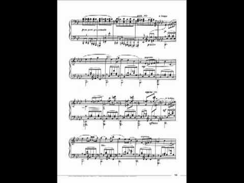 Andrei Gavrilov plays Prokofiev 10 Pieces from 'Romeo and Juliet' Op.75 - 3. Minuet