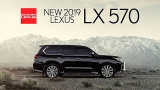 2019 Lexus LX 570 Walkaround at South Bay Lexus near Los Angeles