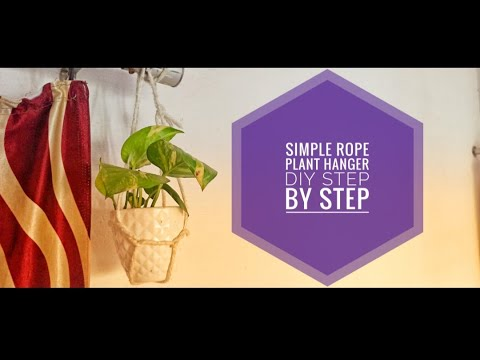simple-rope-plant-hanger-diy-step-by-step-|-plant-hanging-rope