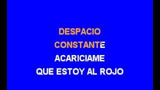 Karaoke Maria Conchita Alonso   Acariciame