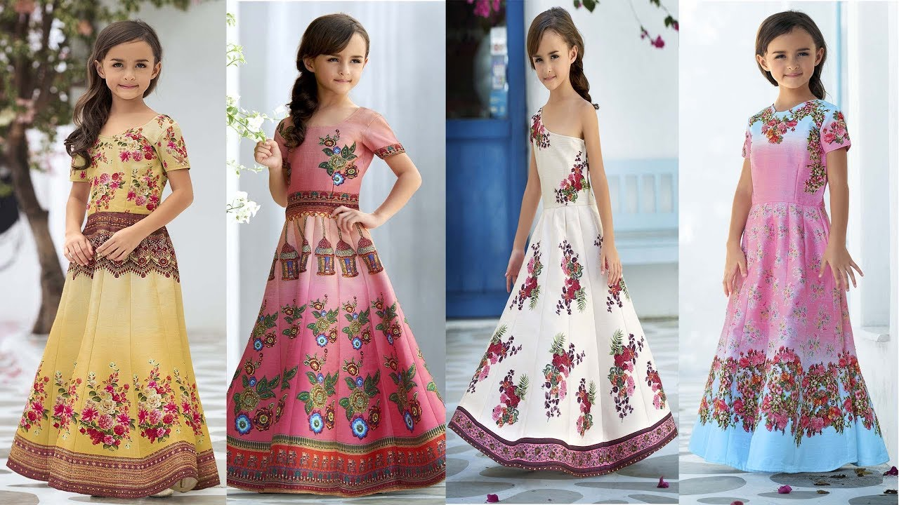 Latest Baby Party Wear Dresses And Gowns India