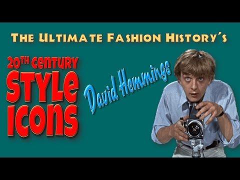 20th CENTURY STYLE ICONS: David Hemmings