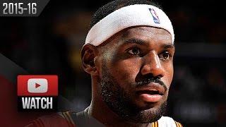 LeBron James Full Highlights vs Nets (2015.11.28) - 26 Pts, 9 Reb, Game-Winner!