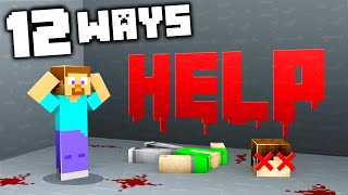 12 Ways to SCARE Your Friends in Minecraft!