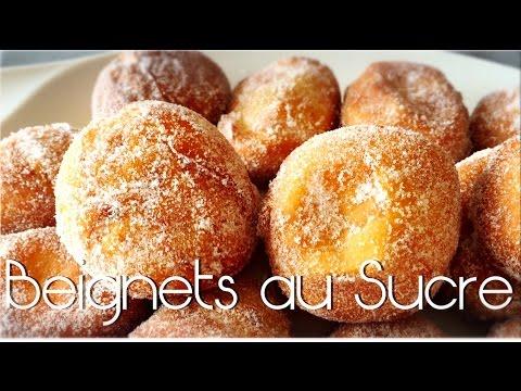 ❥ Beignets au sucre.