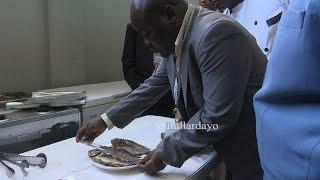 Samaki wakamatwa katika mgahawa wa Bunge Dodoma