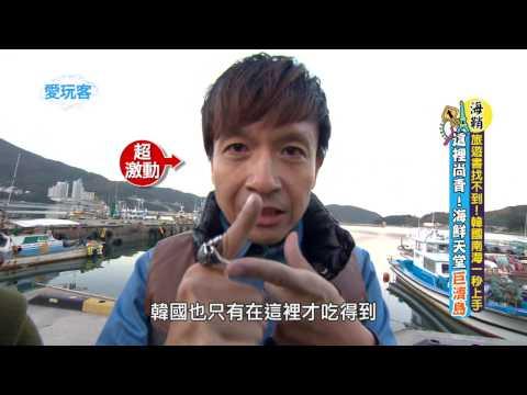【韓國】南海海鮮吃透透,生章魚、大牡蠣豪好吃~【週一愛玩客】#253 精彩回顧
