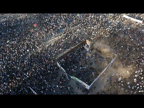 شاهد: مظاهرات عارمة في تشيلي إحياءً للذكرى الثانية لاحتجاجات 2019  - نشر قبل 4 ساعة