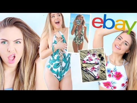 Trying On Bikini's I Bought From Ebay! *DISASTER*