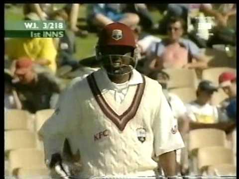 Brian Lara 182 Vs Australia 2000/01 Adelaide