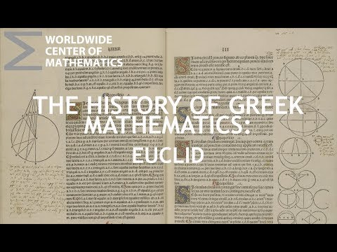 Greek Mathematics: Euclid and the Elements