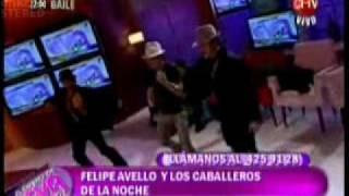 Kako Stripper 2.0 Bailando con Felipe avello en el diario de eva