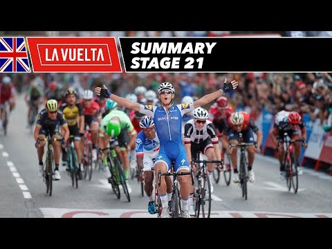 Summary - Stage 21 - La Vuelta 2017