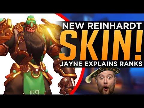 Overwatch: NEW Legendary Rein SKIN! - Jayne Explains Every Rank thumbnail